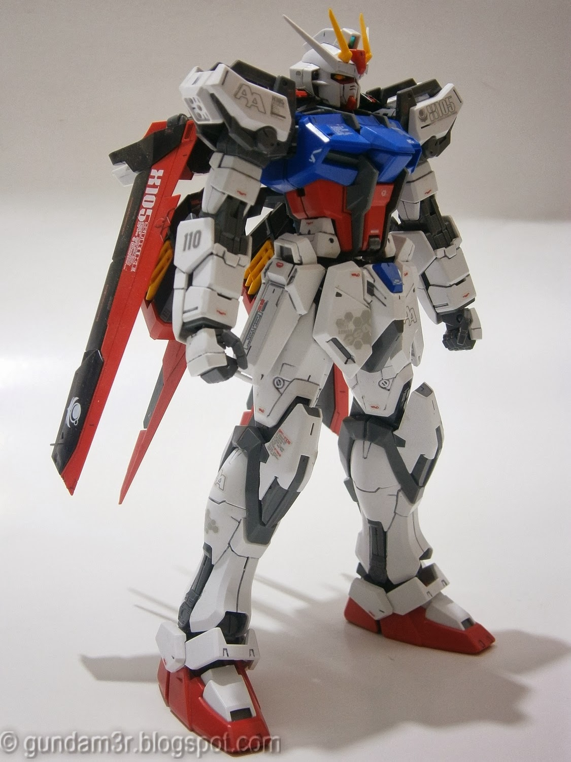 aile strike gundam ver  rm mg review part 1
