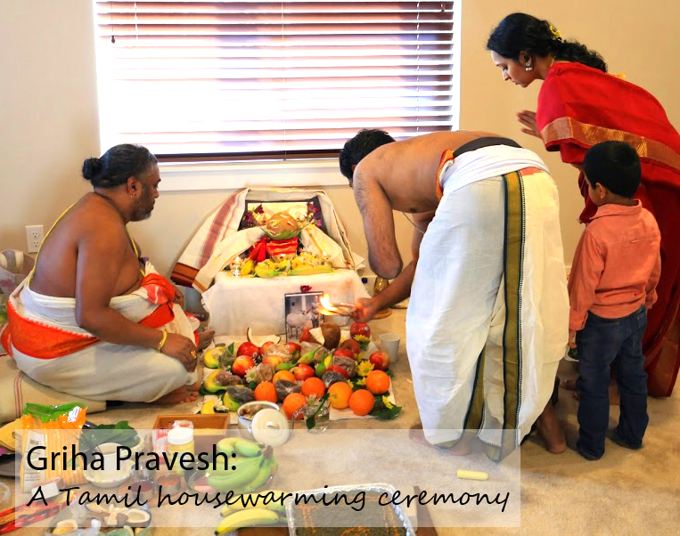 Quot Griha Pravesh Quot A Tamil Housewarming Ceremony Madh Mama