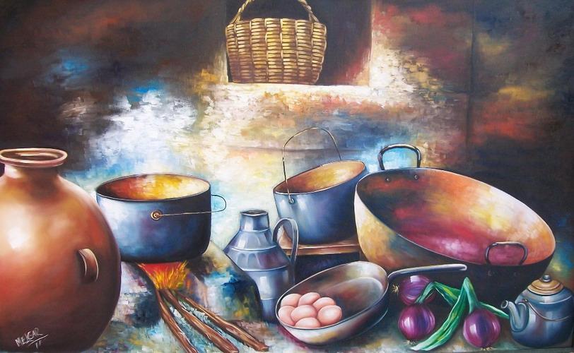 Cuadros Para Cocinas Modernas Cuadros Tazas De Caf Blanco Y Negro - Cuadros-de-cocinas