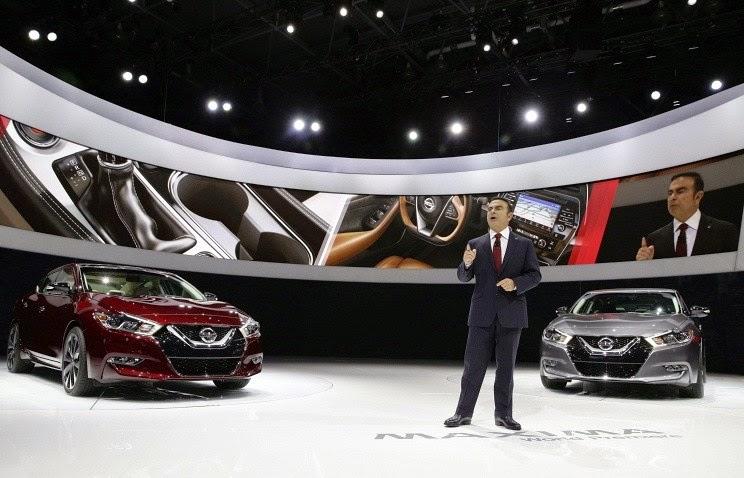 Nissan с автопилотом