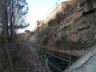 El canal de derivació de la Colònia Vidal