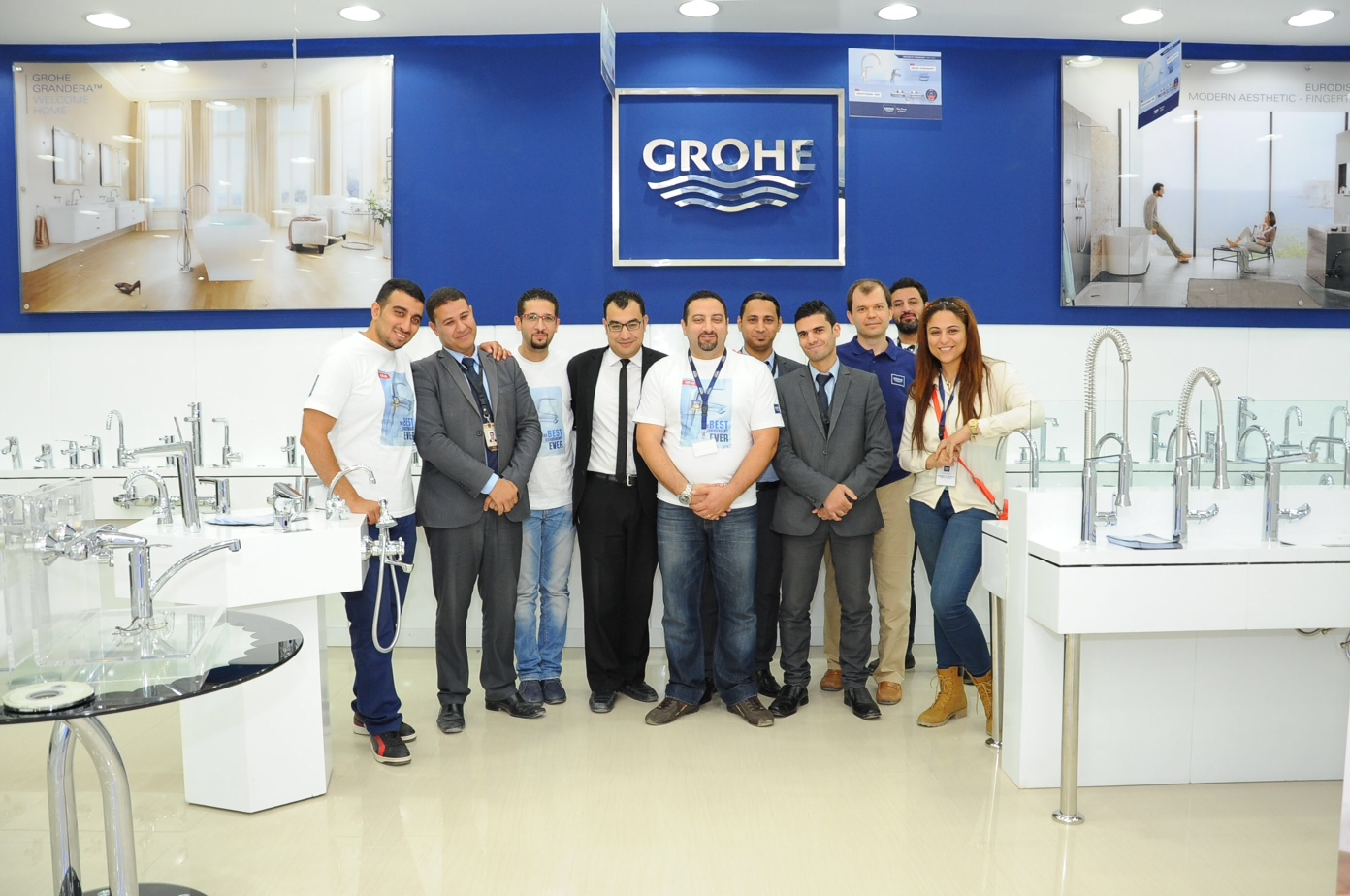 Company News in Egypt: GROHE Re-launches its Best Eurosmart Ever in ...