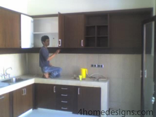 Kitchen set mewah dengan harga murah kitchen set murah for Harga pembuatan kitchen set per meter