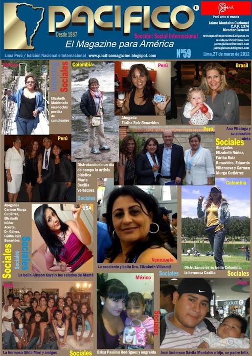 Revista Pacífico Nº 59 Social Internacional