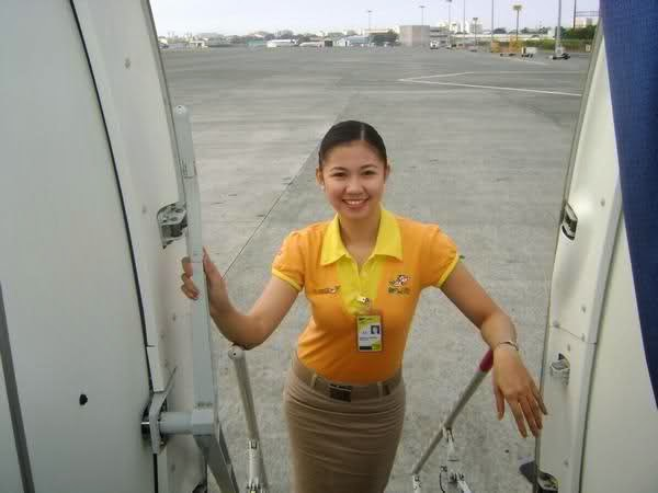 Cebu Pacific Stewardess