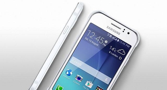 Desain Samsung Galaxy J1 Ace 4G