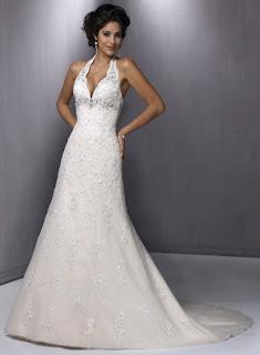 Halter Bridal Gown