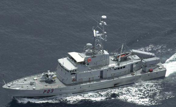 Kapal Perang Brunei Kelas Waspada