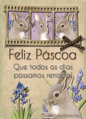 Cartão de Páscoa 2013