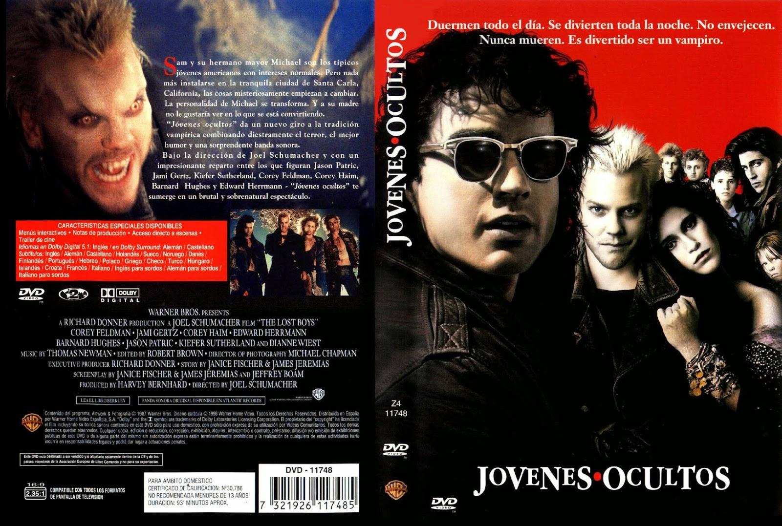 Jovenes Ocultos DVD