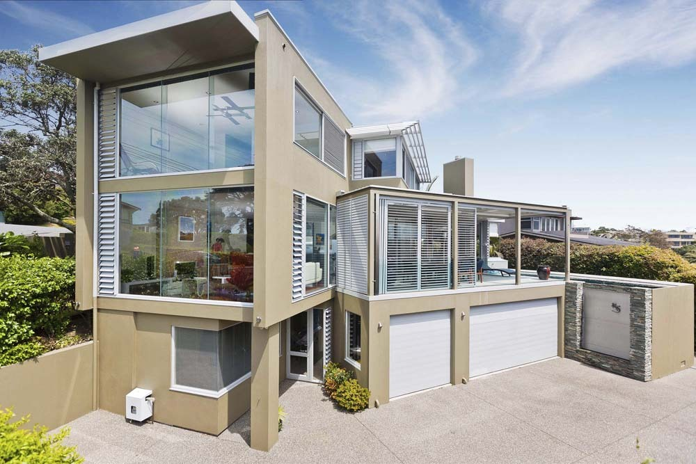 Luxury homes auckland gallery for Modern new zealand homes