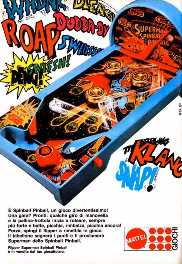 Flipper Superman Mattel