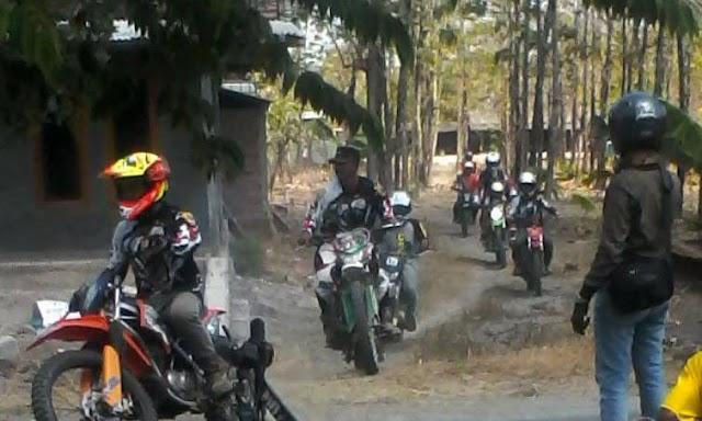 Ratusan Trail Adventure Gelar di Ngrejeng