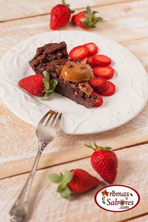 torta de chocolate sem farinha de trigo