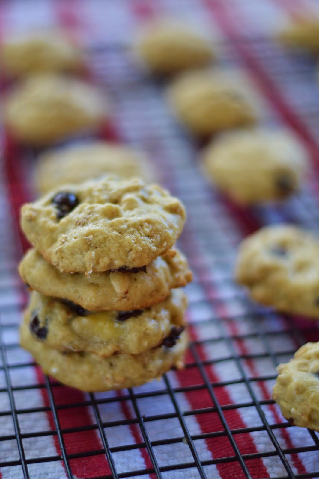 The Art of Comfort Baking: Banana Oatmeal Chocolate Chip Cookies