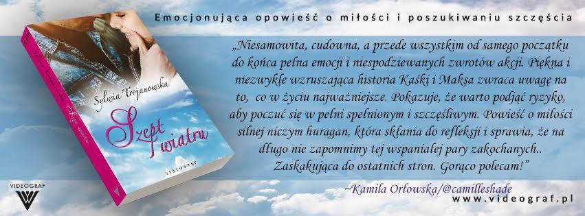 """Ambasadorka powieści """"Szept wiatru"""""""