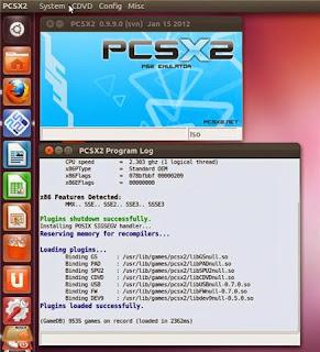 Instalar emulador de PlayStation 2 en Ubuntu, emulador PCX2 Ubuntu instalar, jugar a juegos ps2 en ubuntu