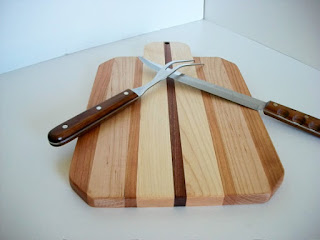 recycled wood cutting board
