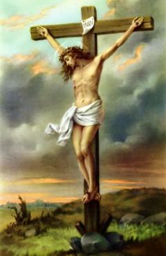 13日 (金曜日) 、十字架で処刑されたイエス