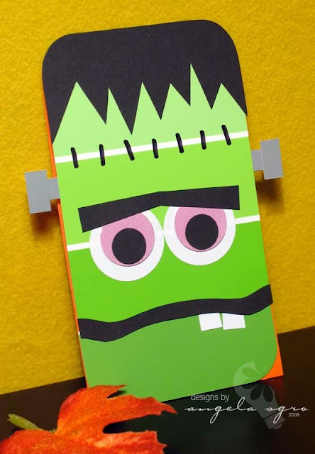 It's Halloweek! Frankenstein party paint chip ideas