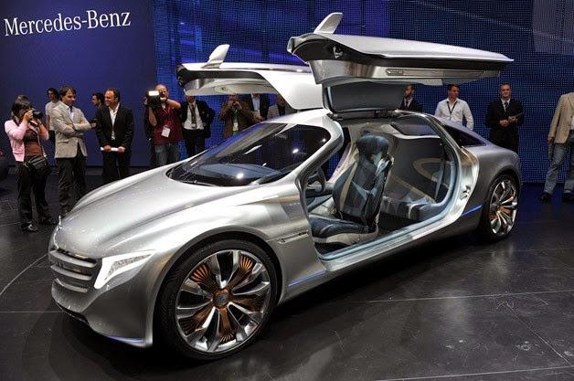 marcedes benz car concept revealed