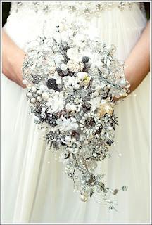 Debbie Carlisle brooch bouquet