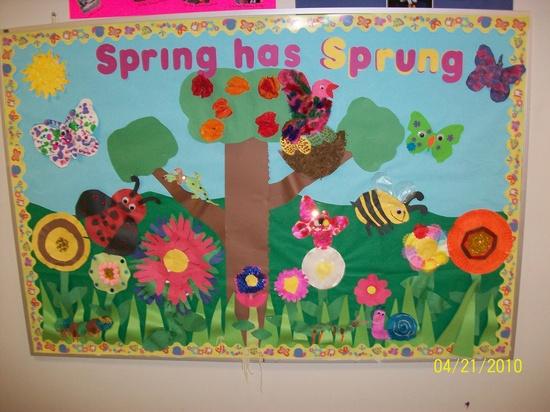 Pinterest Spring Bulletin Board Ideas