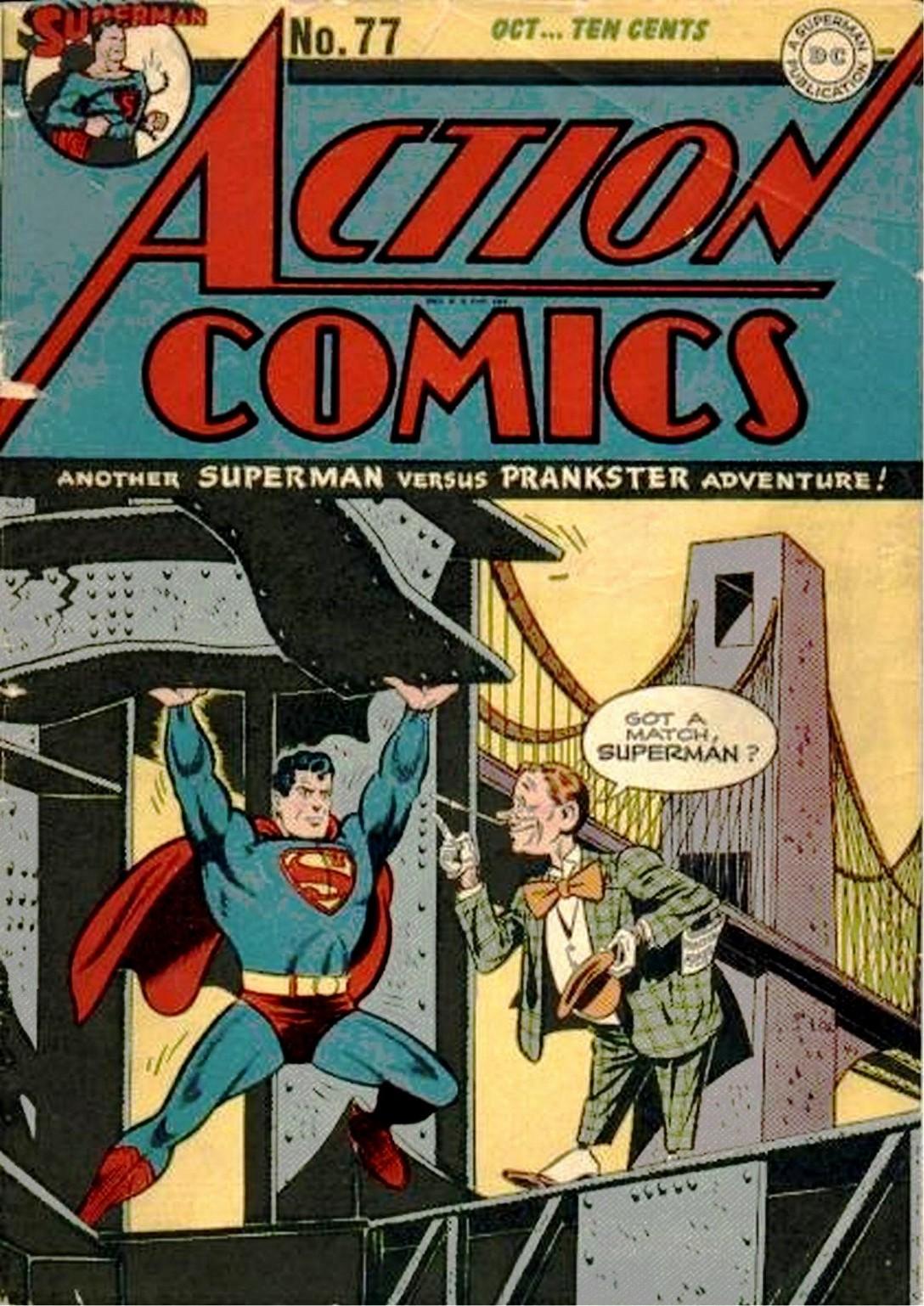 Action Comics (1938) 77 Page 1