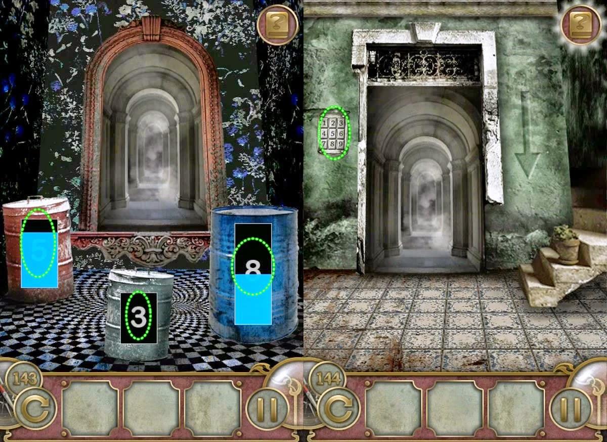 Escape The Mansion Level 143 144 145 146 147 Solution