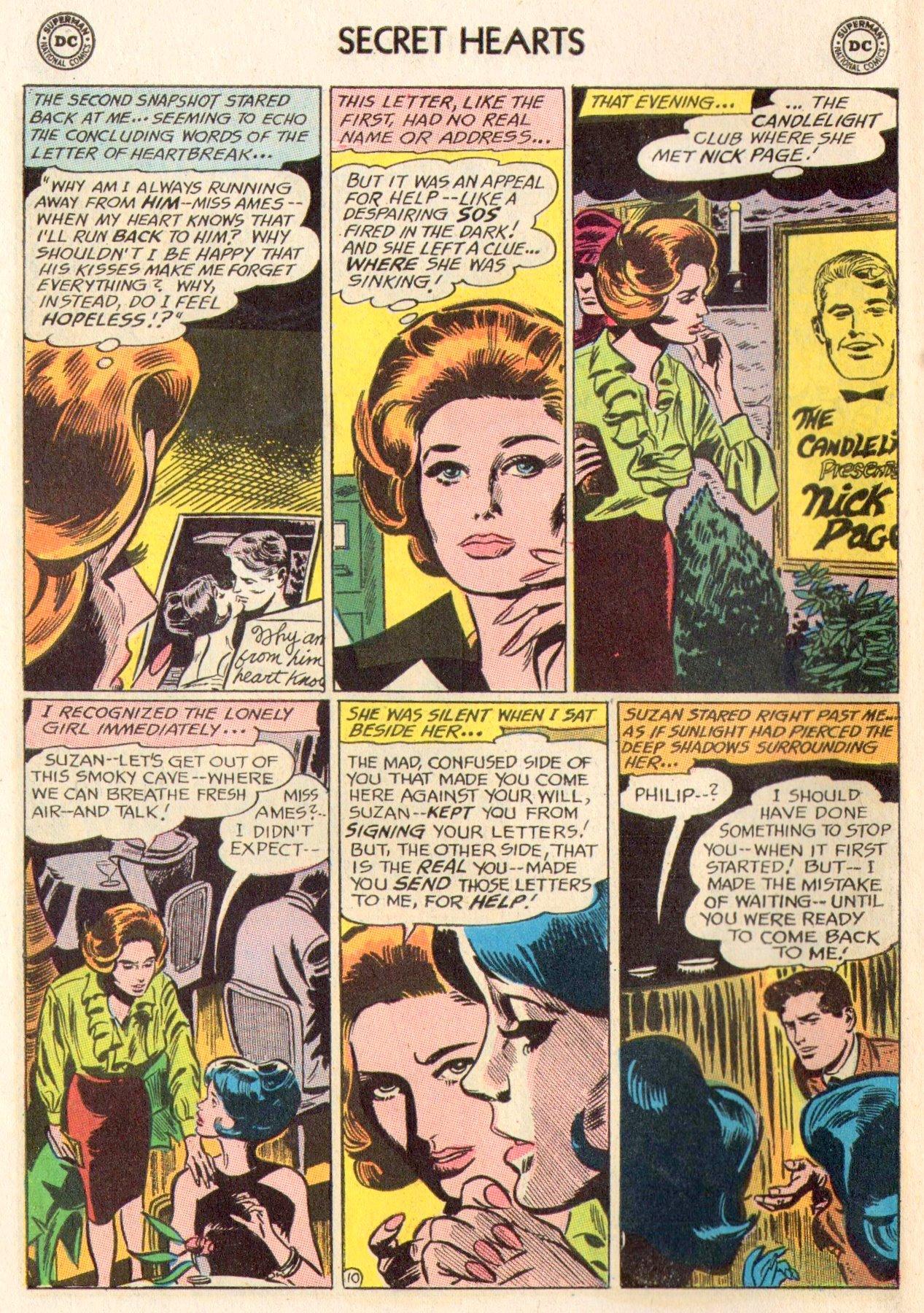 Read online Secret Hearts comic -  Issue #104 - 30