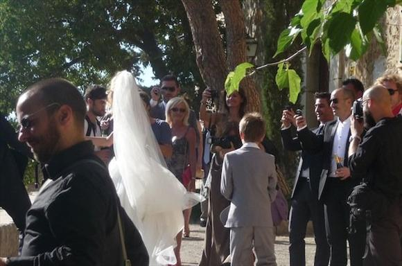 Anja Rubik marries Sasha Knezevic in Mallorca