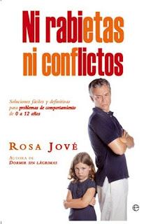"""Portada del libro """"Ni rabietas ni conflictos"""" con un padre y su hija enfadados"""