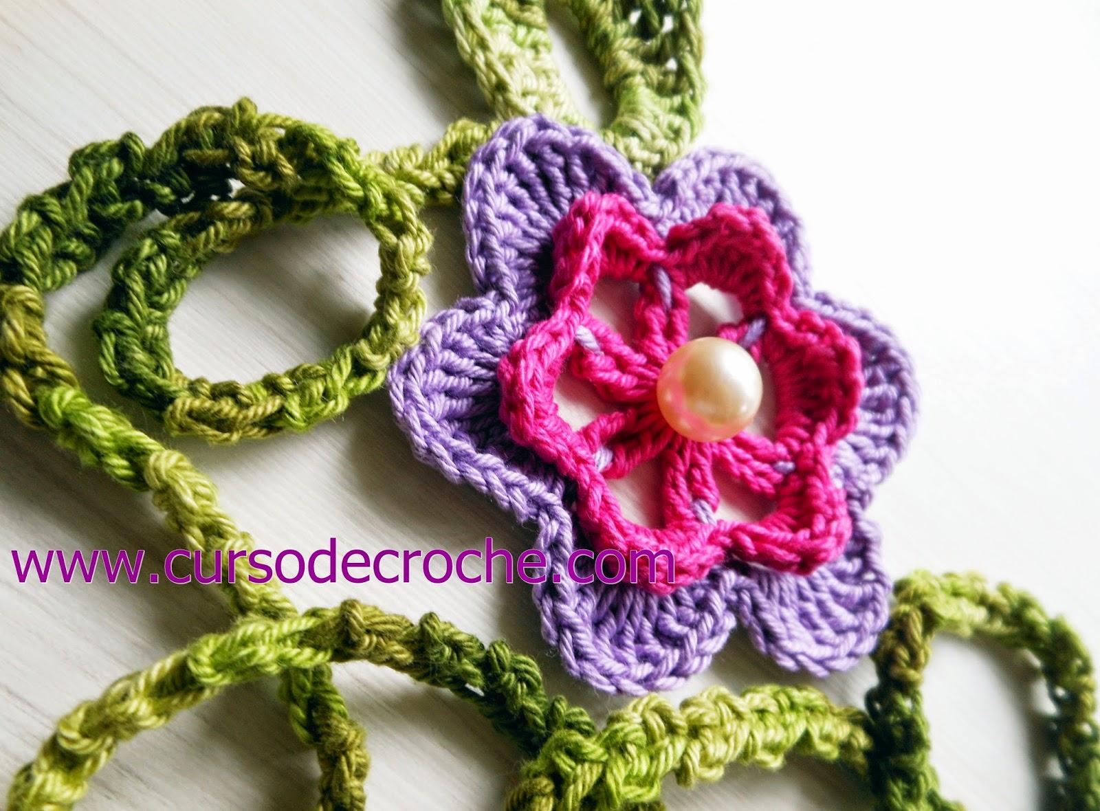 dvd flores 5 volumes com frete gratis na loja curso de croche com Edinir-Croche