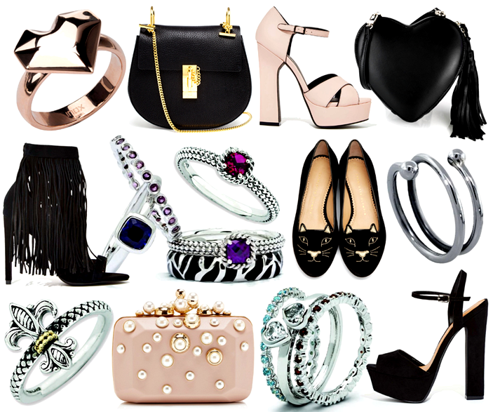 shoes and accessories to wear this season, style inspiration, jewelery stacking