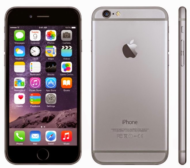 iPhone 6 official photo