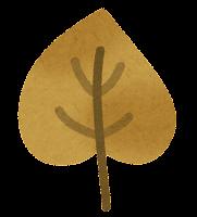 落ち葉のイラスト3