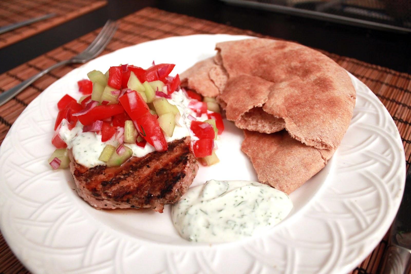 Metropolitan Mélange: Greek-Style Pork Chops