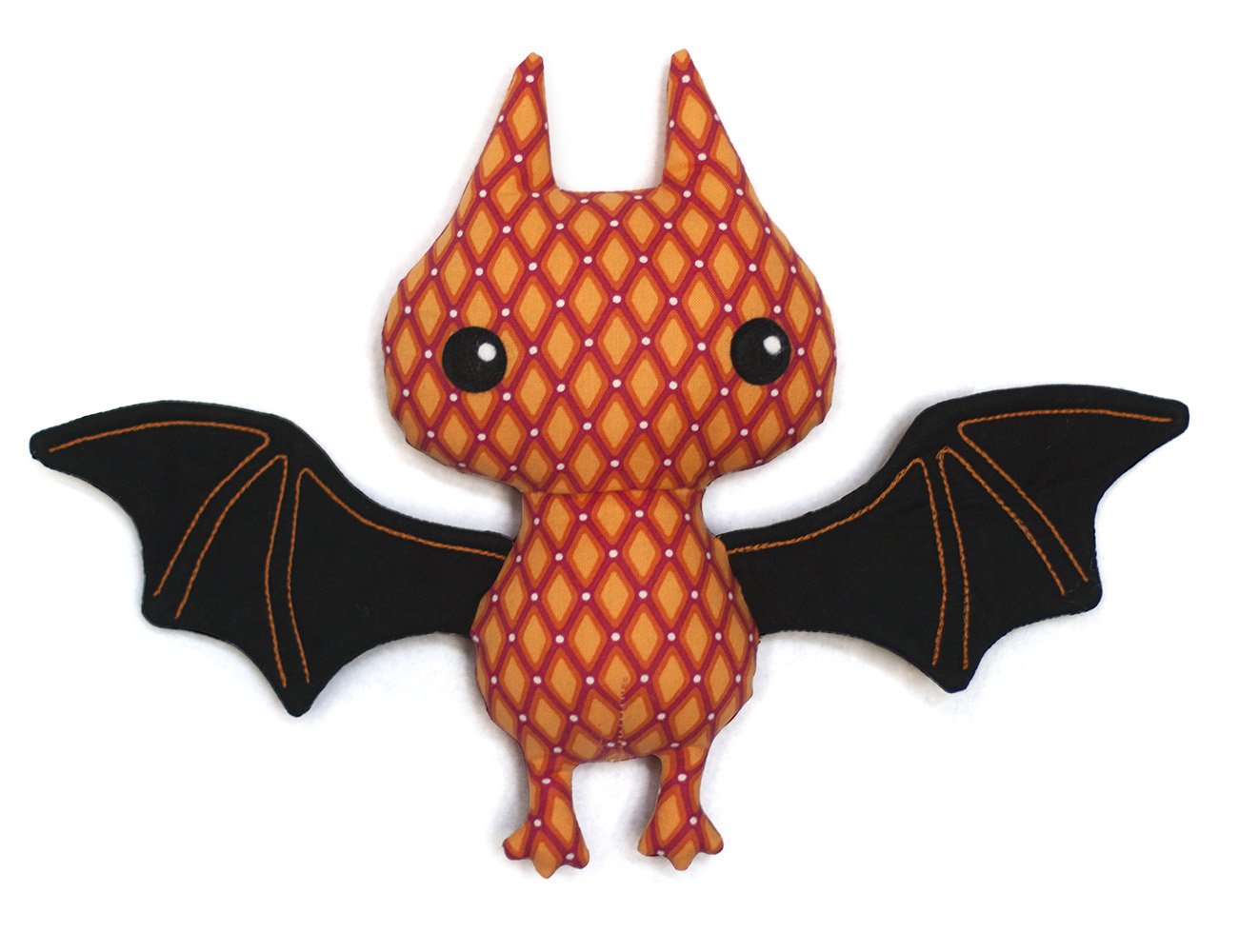 stuffed bat sewing pattern