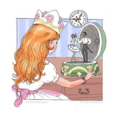 il primo disegno per il progetto gioielli per capelli