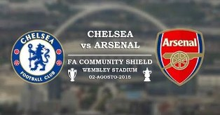 Chelsea vs Arsenal - FA Community Shield 2015
