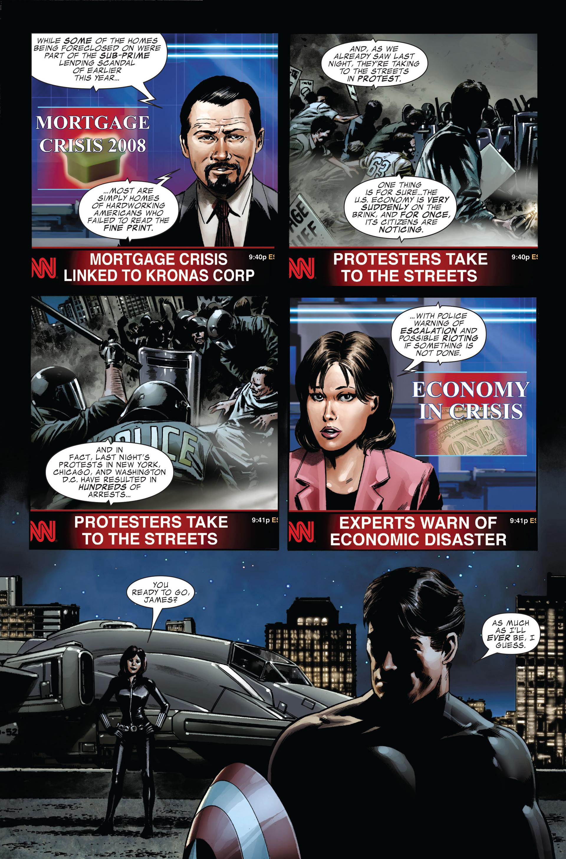 Captain America (2005) Issue #34 #34 - English 4