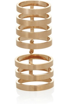 REPOSSI Berbère 18-karat rose gold link ring