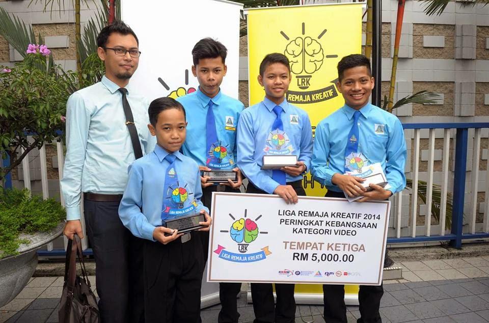 Pemenang Liga Remaja Kreatif 2014 : SMK Cherang Ruku Kelantan
