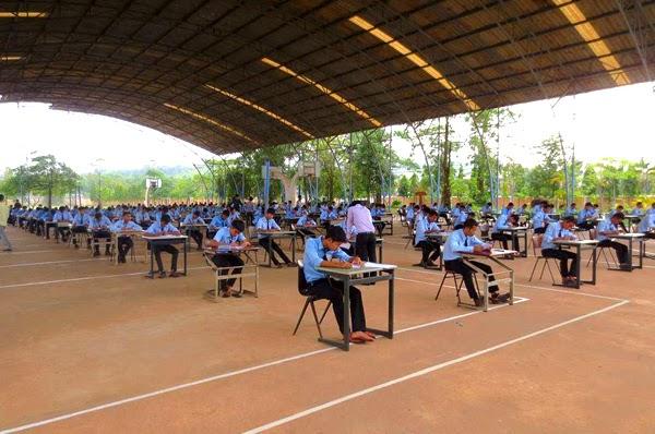 student exam at donbosco 2