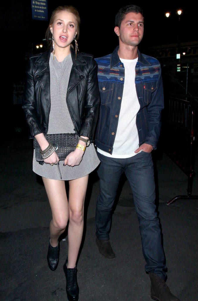 whitney port and ben nemtin. whitney port, Dress, clutch,