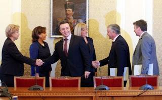 ГЕРБ и БСП продължават консултациите за съставяне на правителство