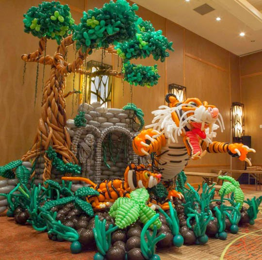 An Awesome Ballon Art