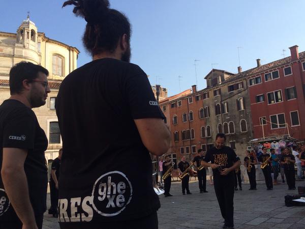 la festa del Redentore a Venezia