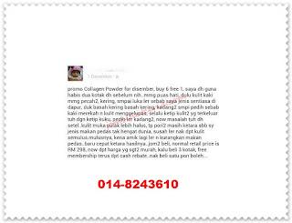 COD, Collagen Powder, Independent SHAKLEE Distributor, Kongsi, Pengedar Shaklee Kuantan, Produk SHAKLEE, Testimoni Collagen Powder,