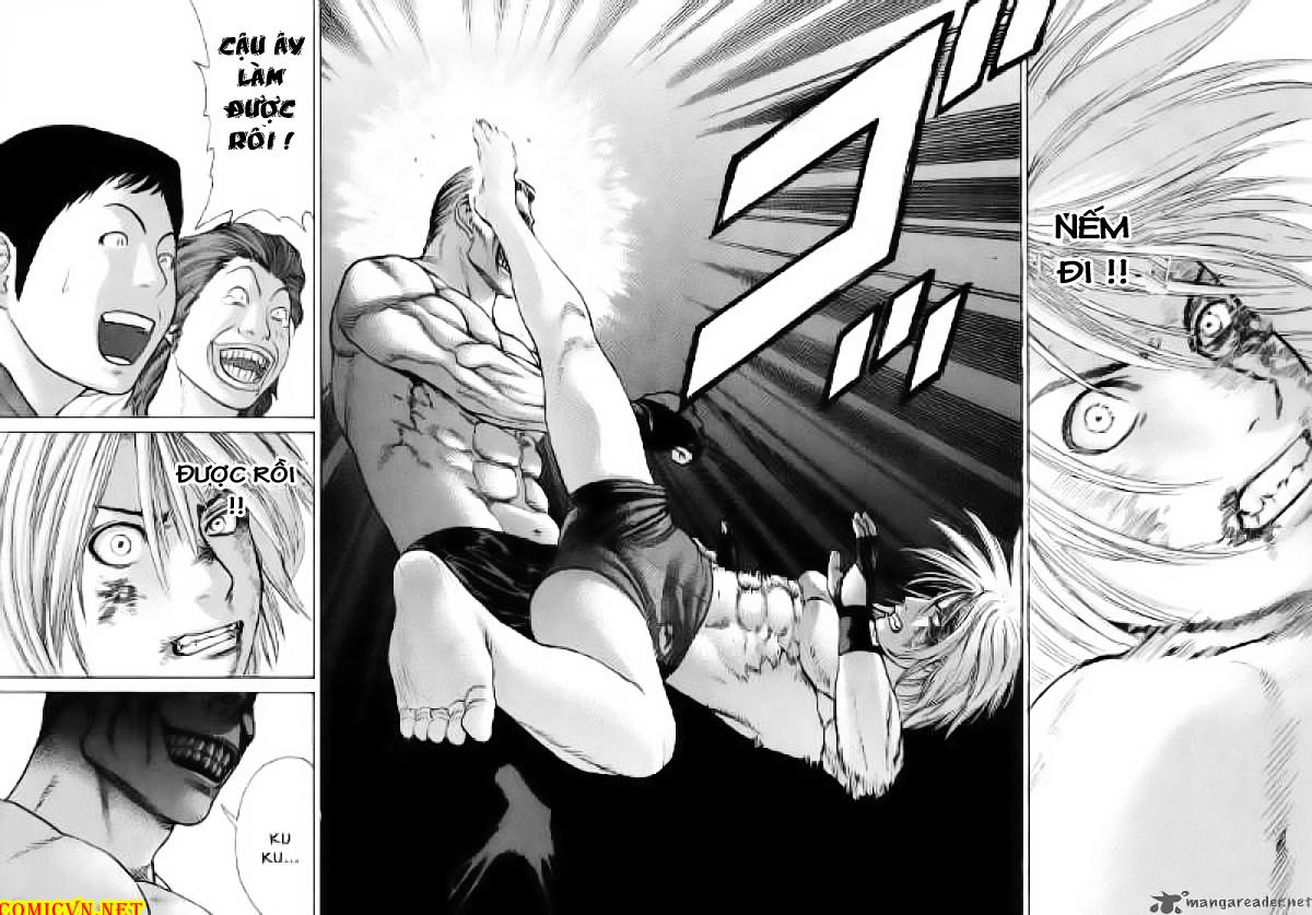 Karate Shoukoushi Kohinata Minoru chap 62 Trang 14